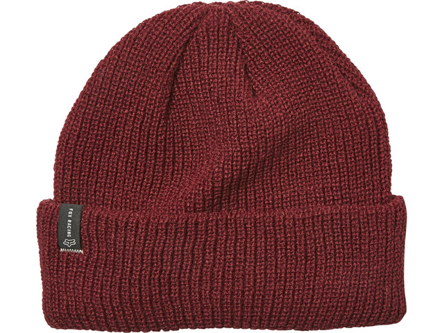 Fox Machinist Beanie Heren, cranberry